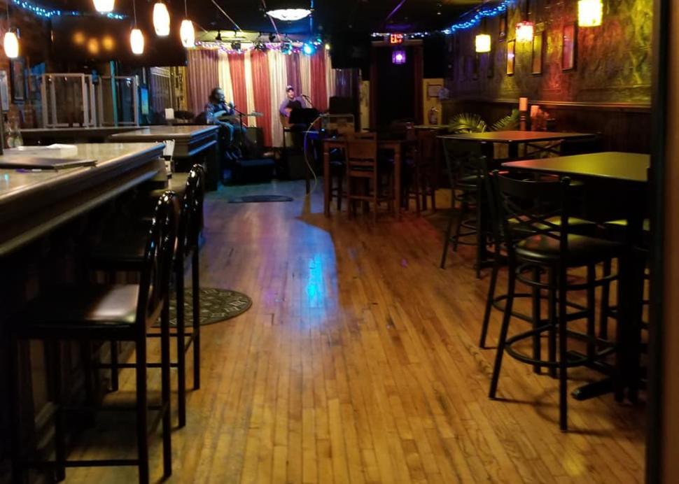 Interior of Moondog's Lounge