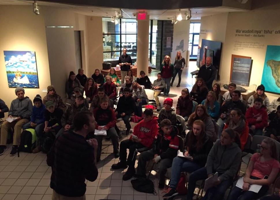 Westhill Fourth Graders Tour the Center