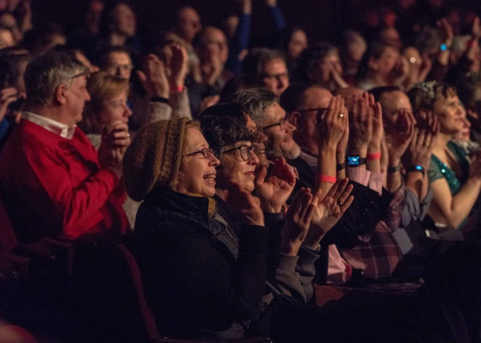 Happy Audience at Smith Center for the Arts, Photo Credit: Jan Regan Photography