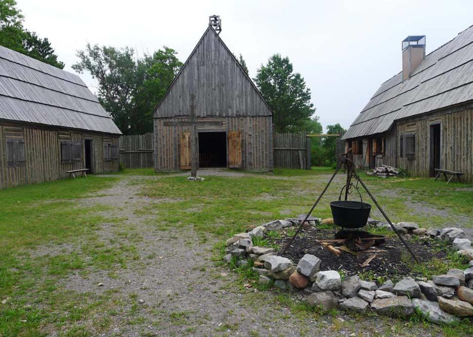 Sainte Marie Among the Iroquois Mission Site Museum