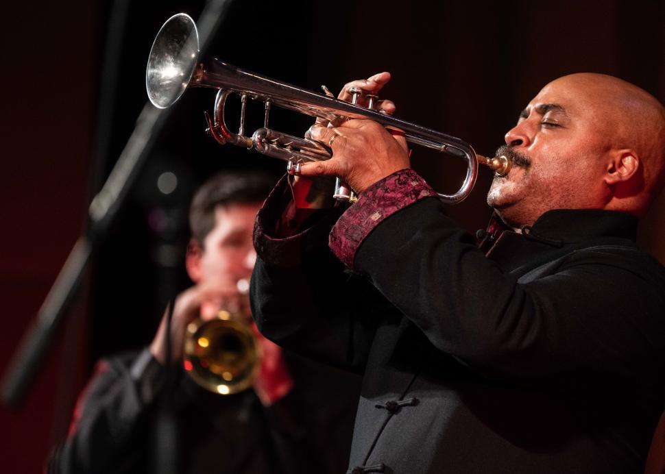 The Rodney Marsalis Philadelphia Big Brass, 2019, Photo Credit: Jan Regan Photography