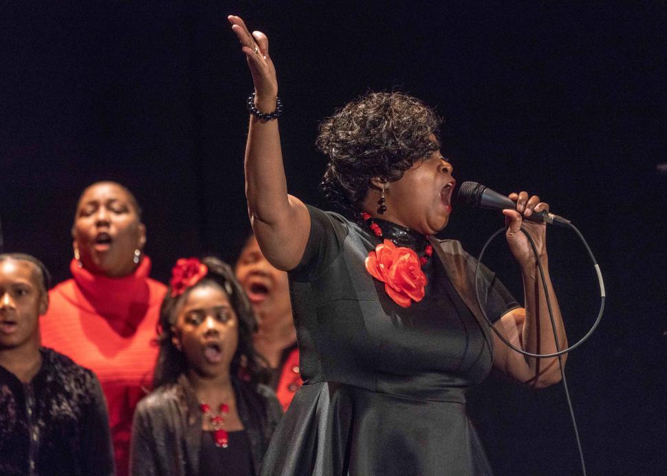 Geneva's MLK, Jr. Choir, 2020, Photo Credit: Jan Regan Photography