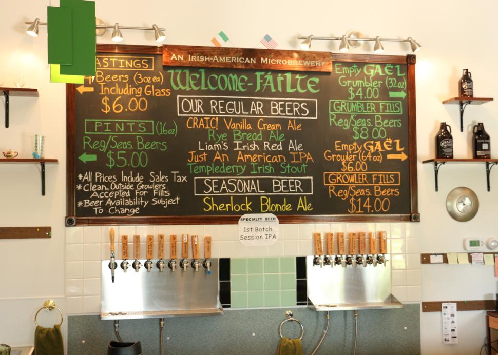 gael-brewing-company-chalkboard