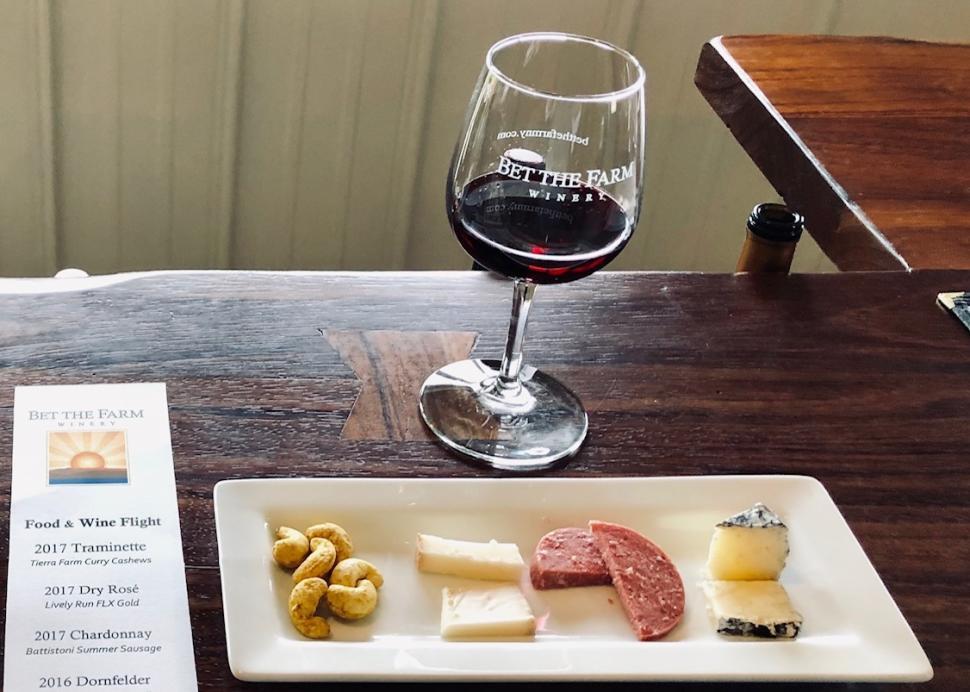 Our Signature Wine & Food Pairing Flight