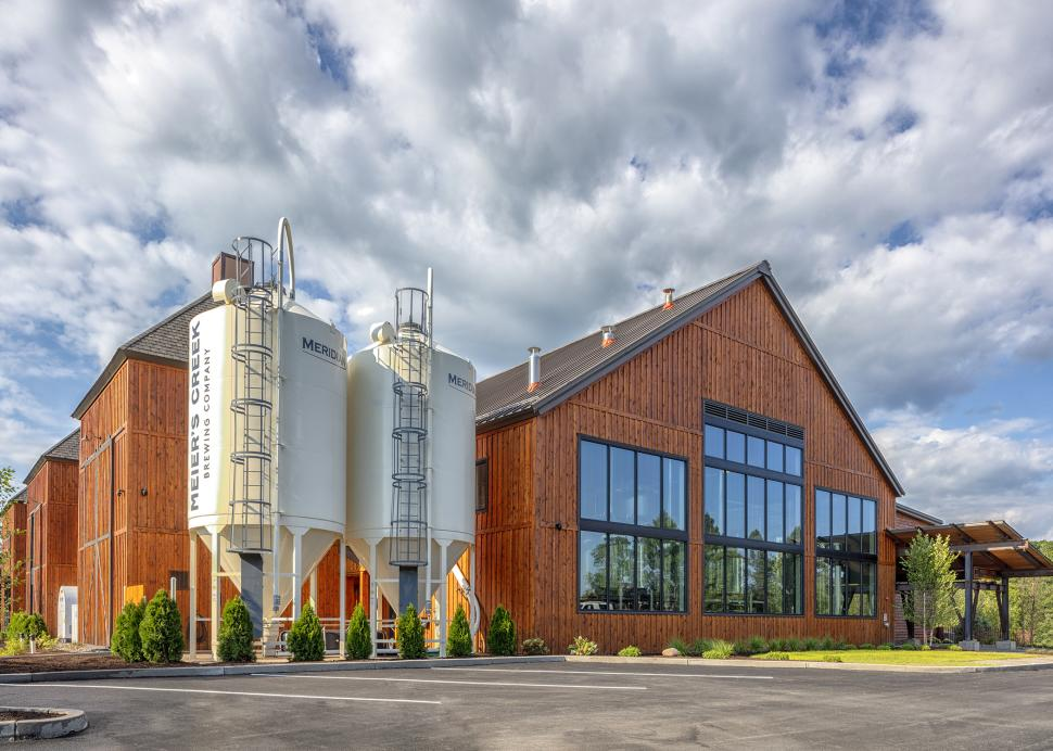 Front of brewery