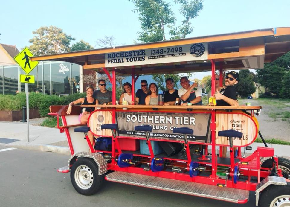 Group Tours at Roc Brewing Co