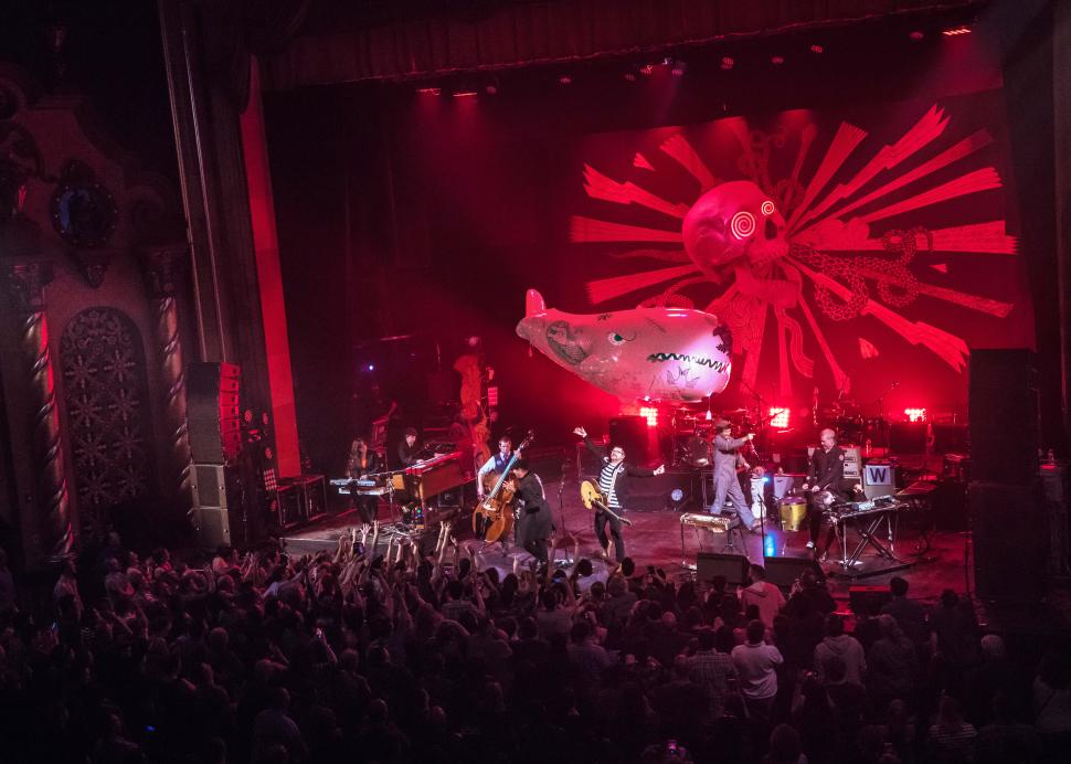 The Decemberists at Smith Center for the Arts, Photo Credit: Jan Regan Photography