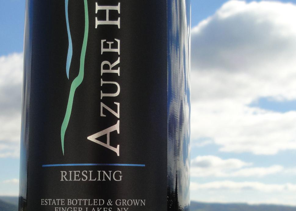 Azure Hill Winery Riesling