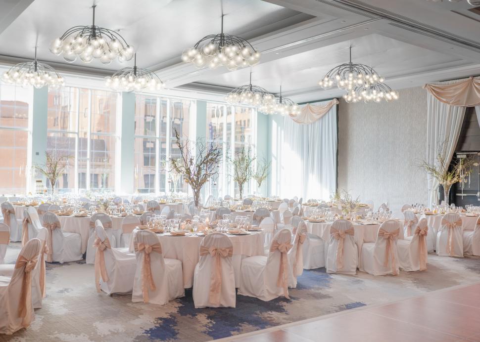 Wedding in Hyatt's Grand Ballroom