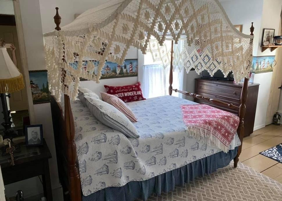 Bedroom Inside Bella Ella B&B