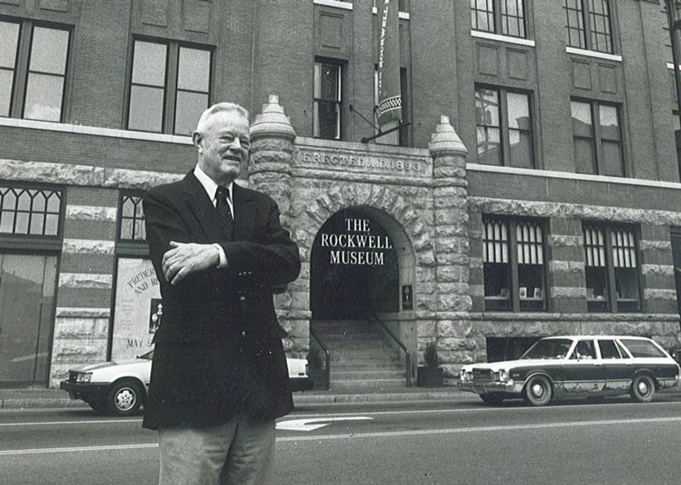 Rockwell Museum Founder, Robert Rockwell