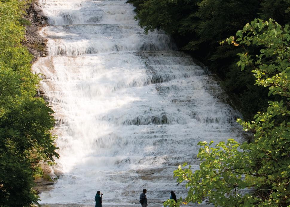 Buttermilk Falls in Ithaca