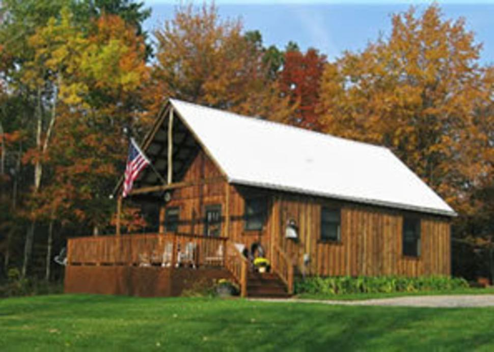 Cabin at High Country Acres in Finger Lakes Wine Country