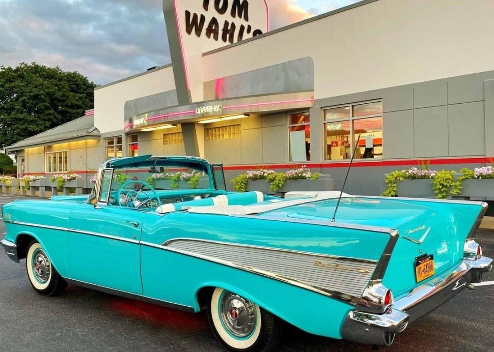 Tom Wahls' classic car