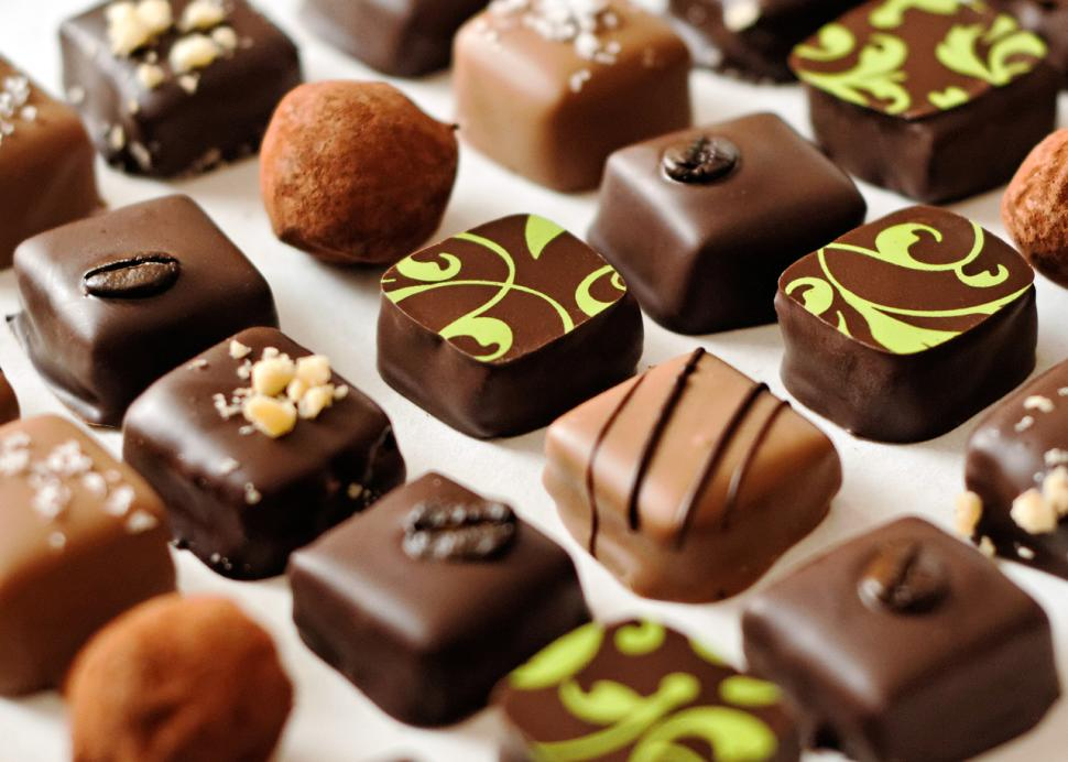 hand crafted truffles at Hedonist Artisan Chocolates in Rochester, NY