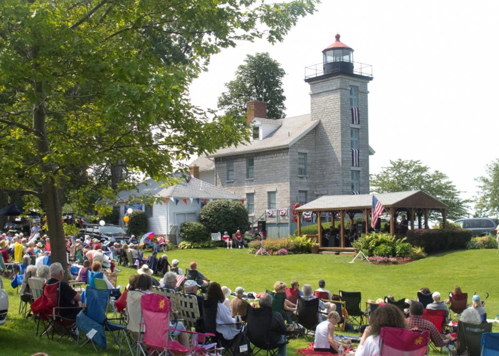 Concert at the Sodus Point Lighthouse - Jack Kidd Photo Credit