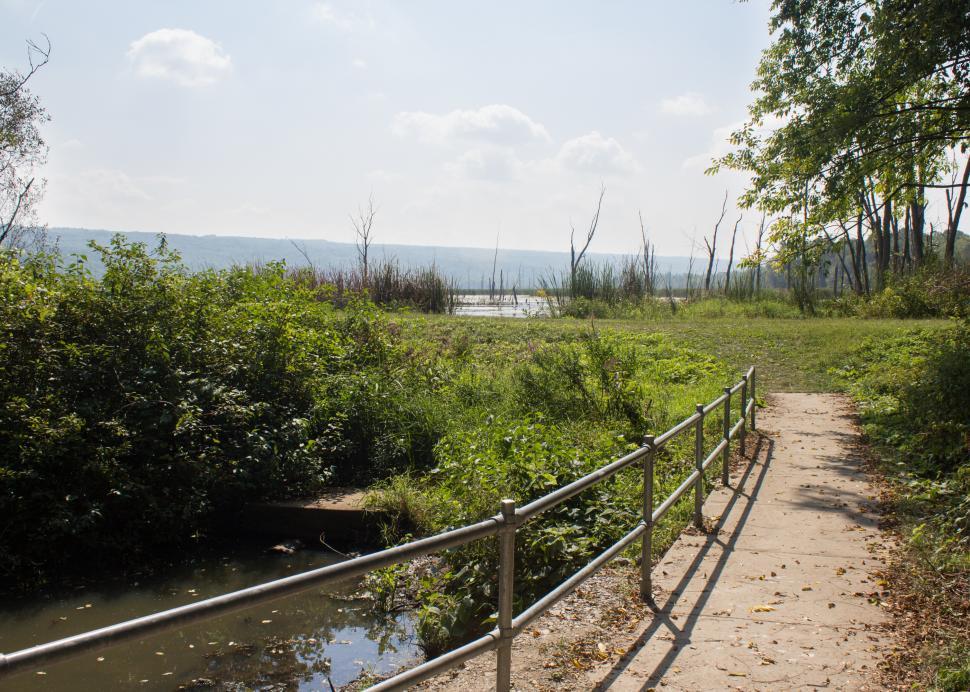 Conesus Lake Inlet Walking Path