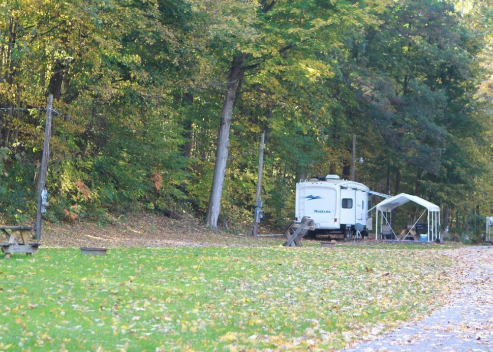 Camp site at Creek-N-Wood