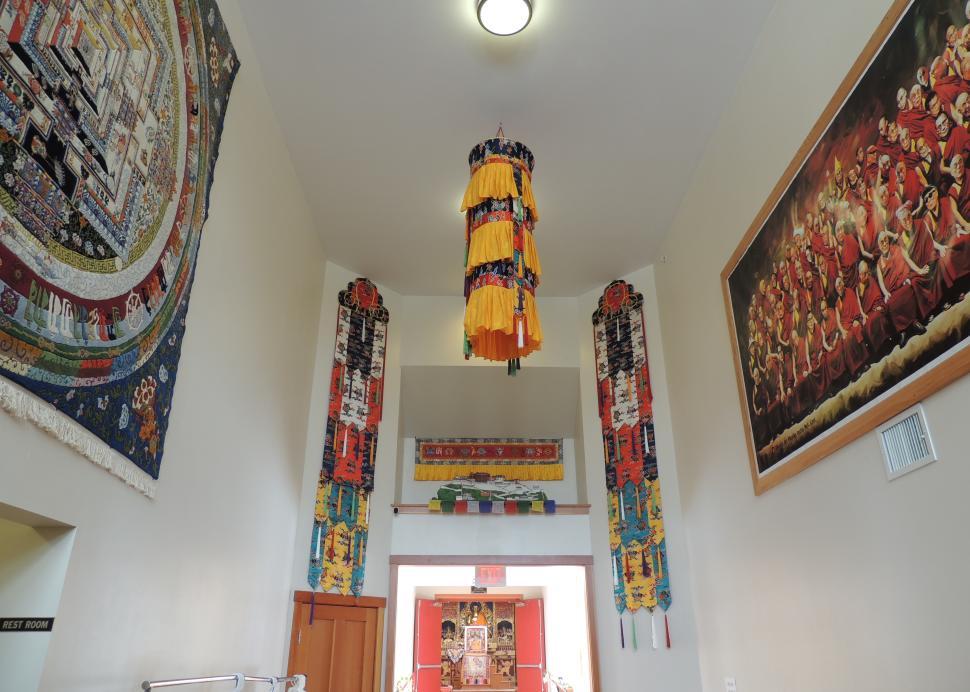 Namgyal Monastary shrine