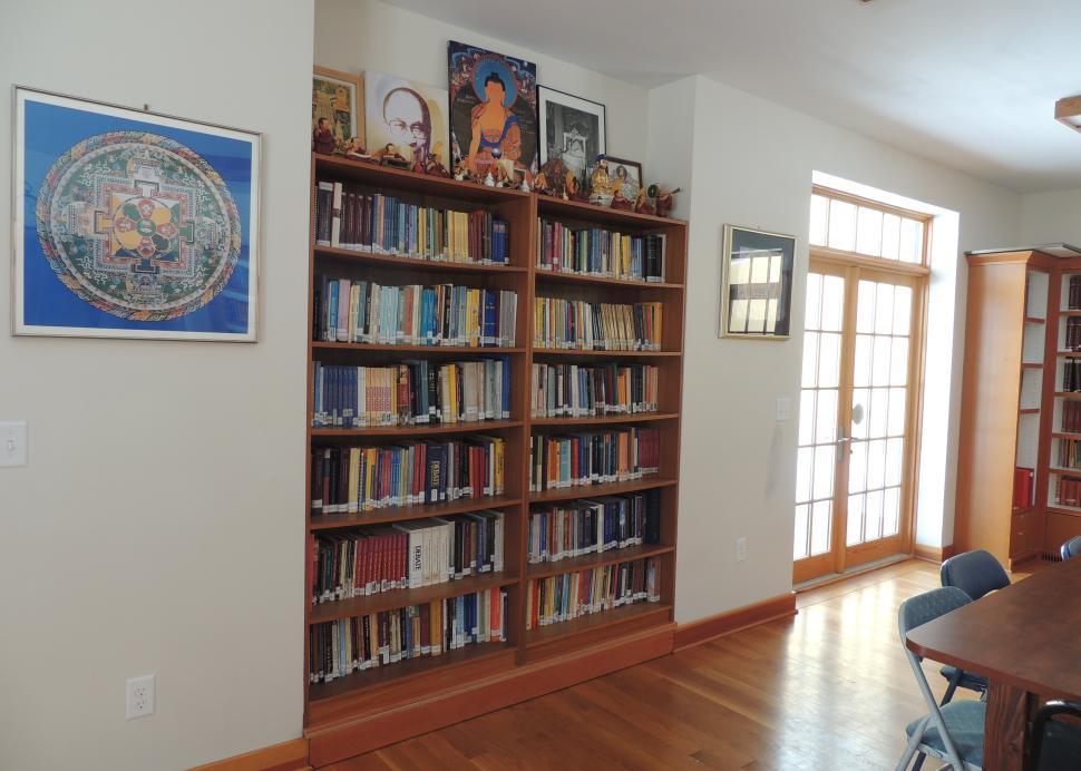 Namgyal Monastary inside