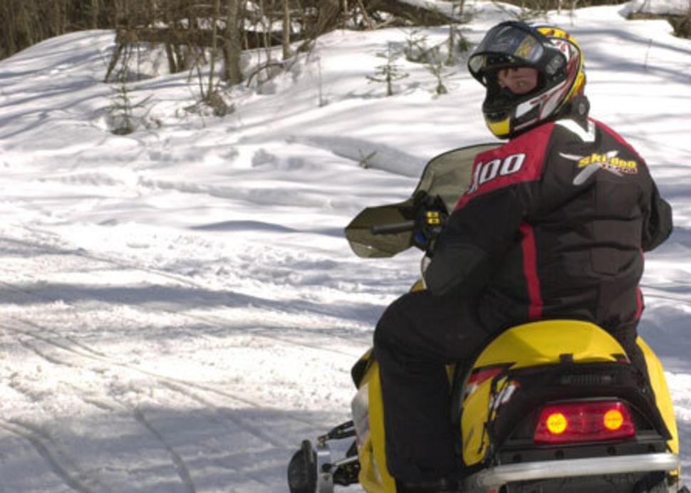 Snowmobiling - Photo by Susan Shafer