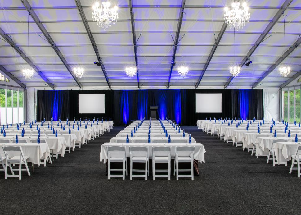 Woodcliff Hotel and Spa, Event setup