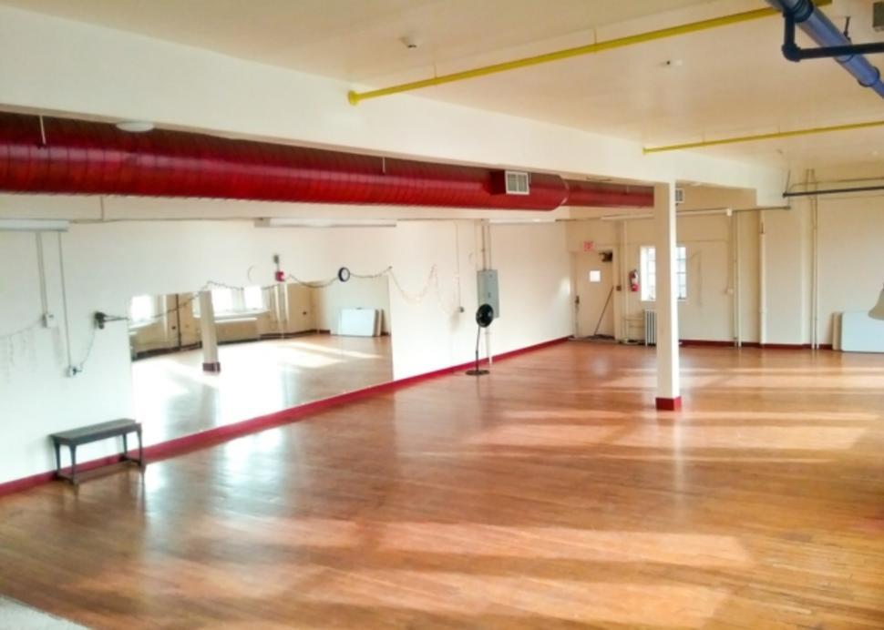 Dance Studio inside Smith Opera House