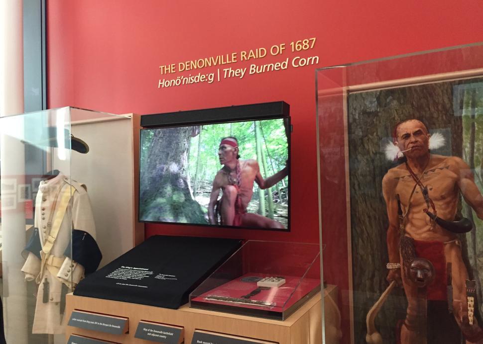 Denonville Raid exhibit