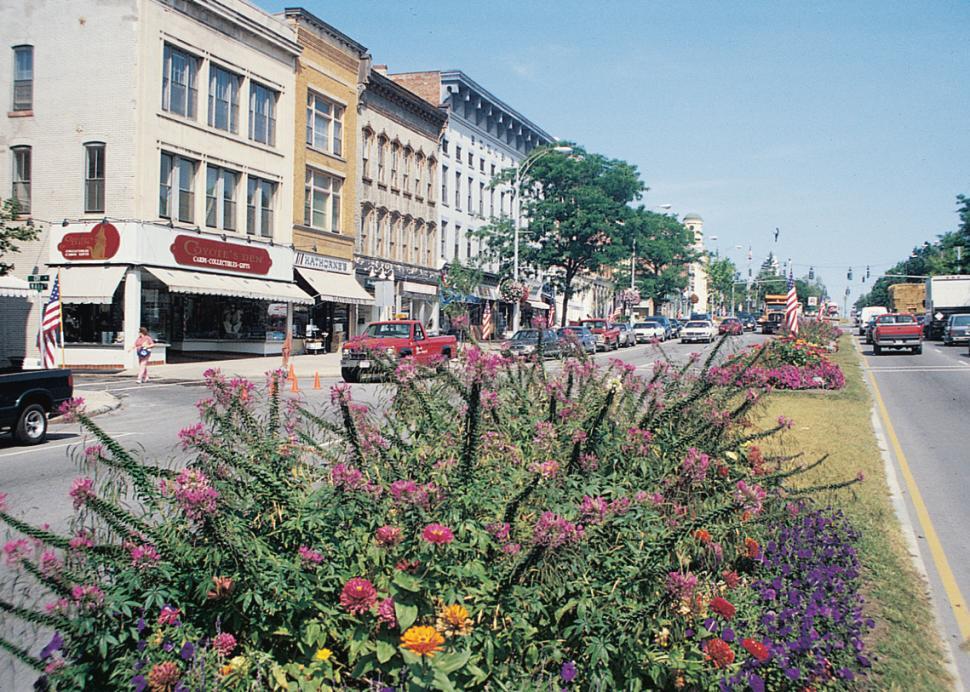 Downtown Main St. Canandaigua
