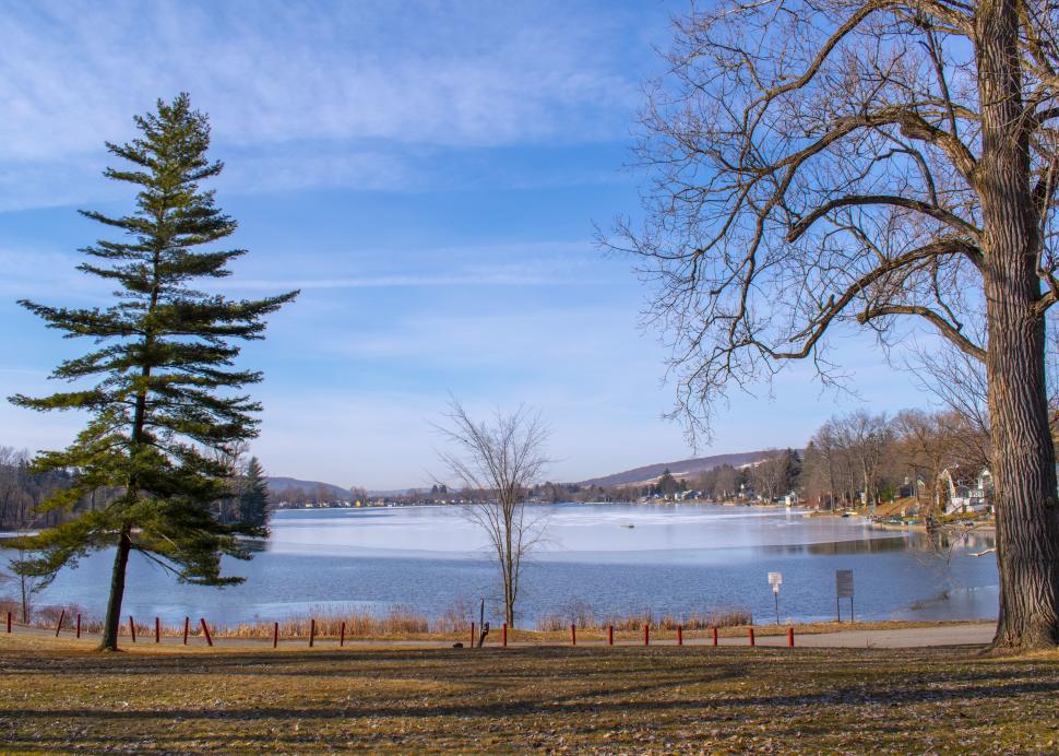 Little York Lake at Dywer Memorial Park