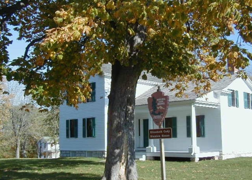 Elizabeth Cady Stanton House Photo Courtesy of National Park Service