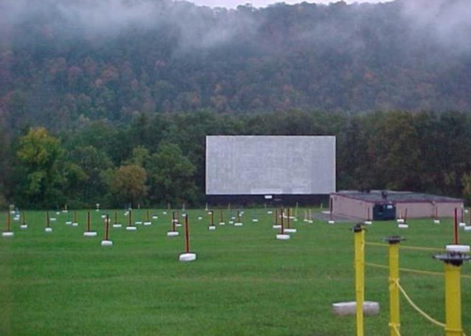 Elmira Drive-In Daylight
