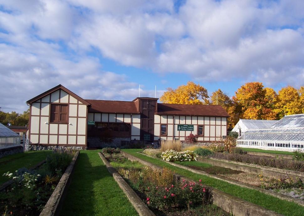 Outside of the Finger Lakes Wine Center