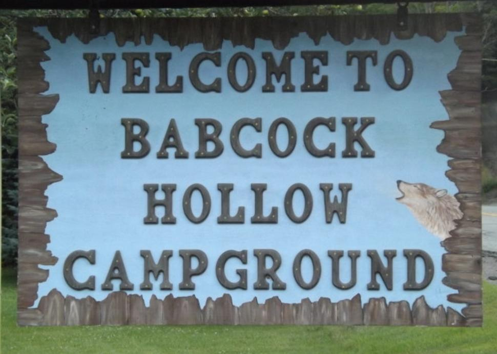 Welcome to Babcock Hollow Campground
