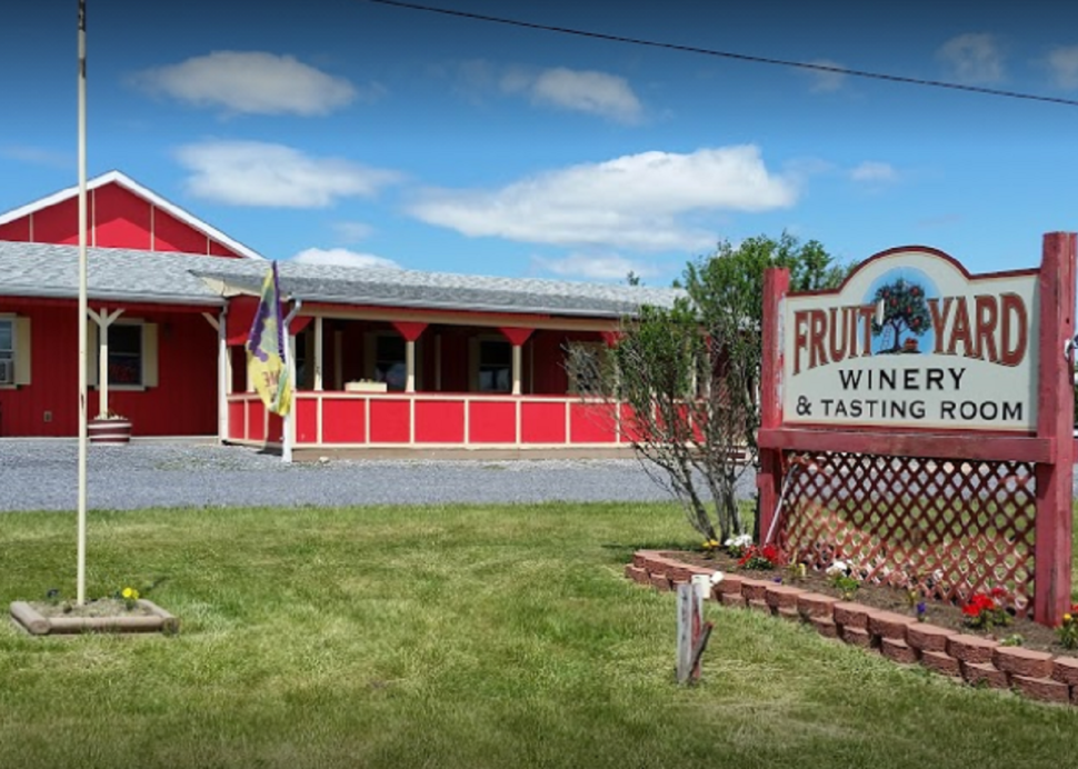 Fruit Yard Winery exterior