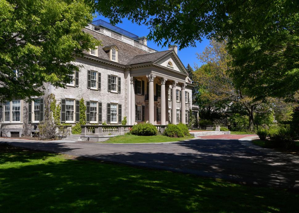 Exterior of George Eastman Museum