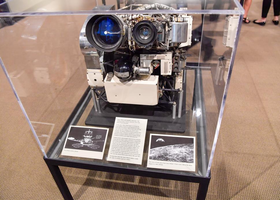Inside exhibit at George Eastman Museum