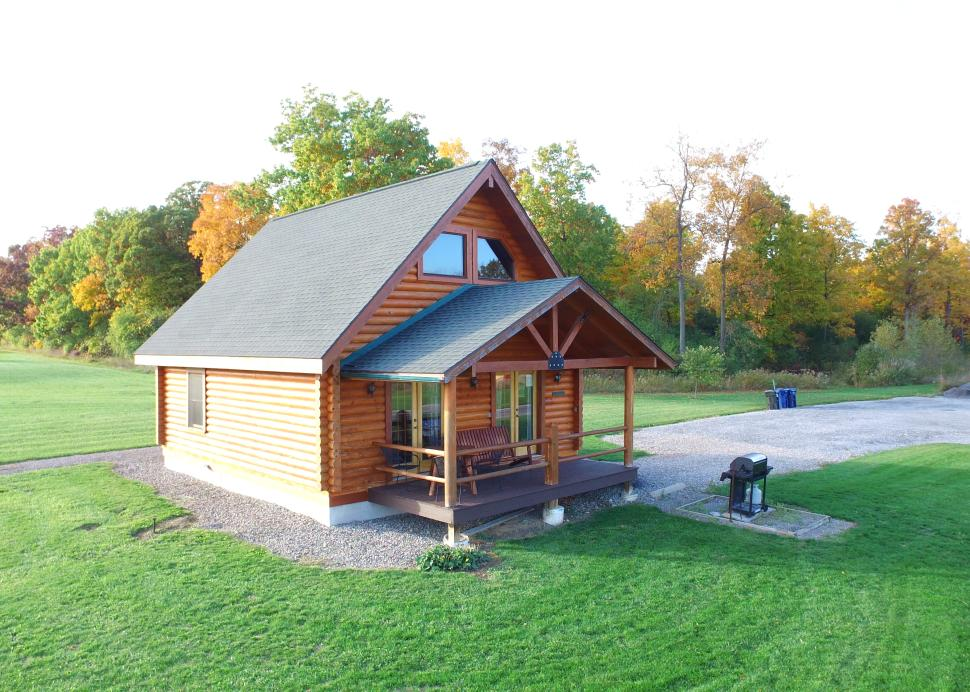 Exterior of the Honeoye Cabin owned by Cobtree Vacation Rental Homes