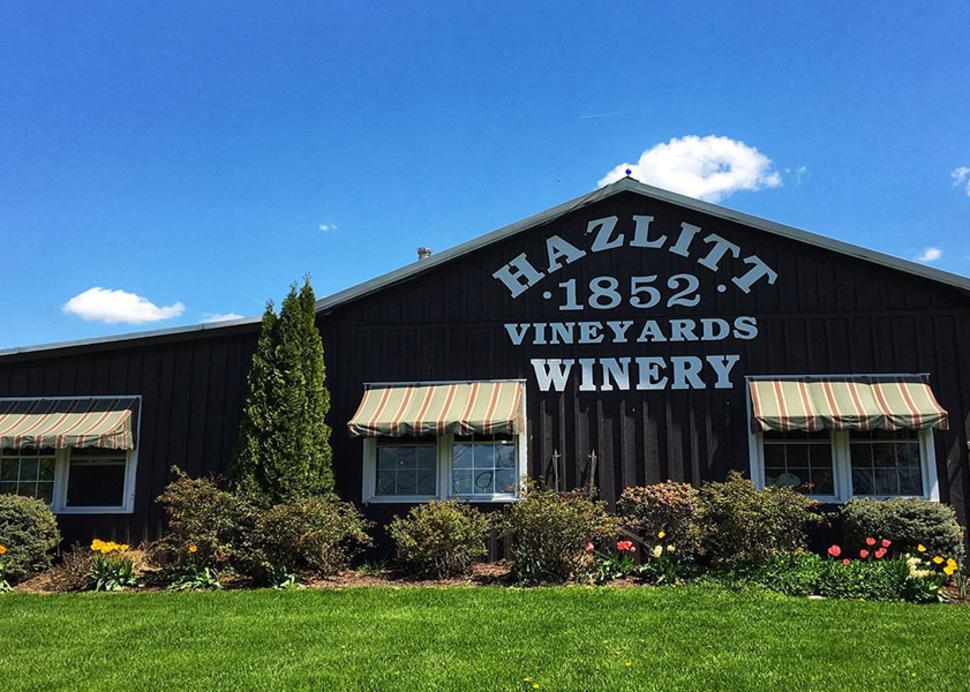 Hazlitt 1852 Vineyards - Exterior