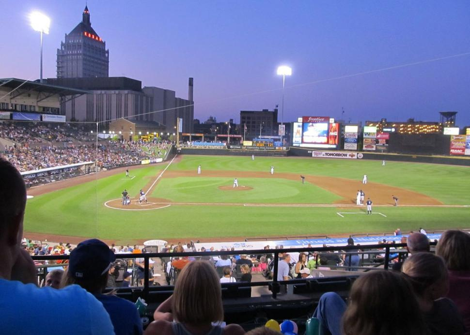 Rochester Red Wings at Frontier Field in Rochester, NY