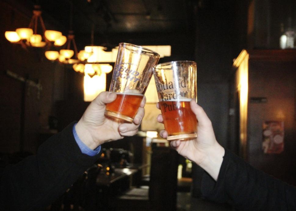 Cheers to Scotland Yard Pub