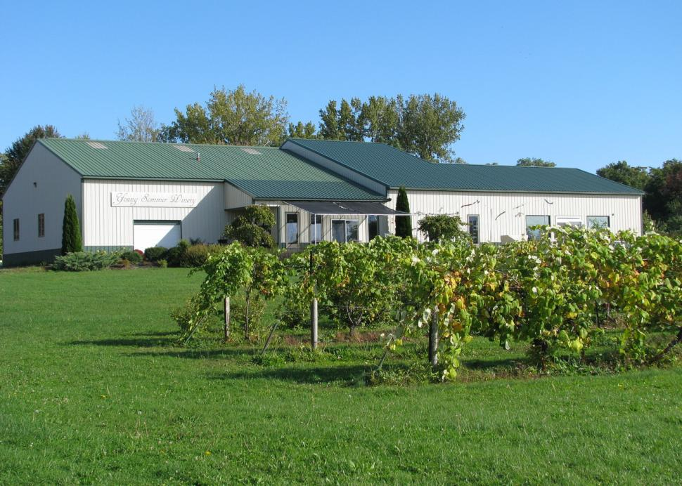 Young Sommer Winery - exterior