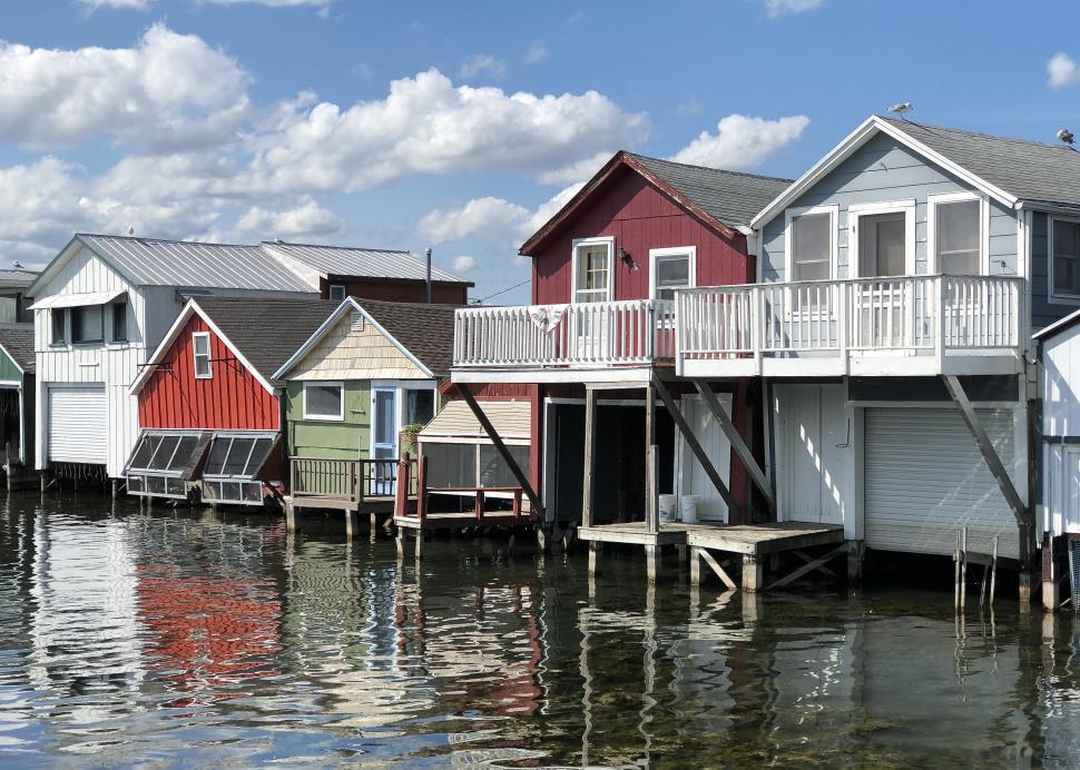 City Pier Boathouses