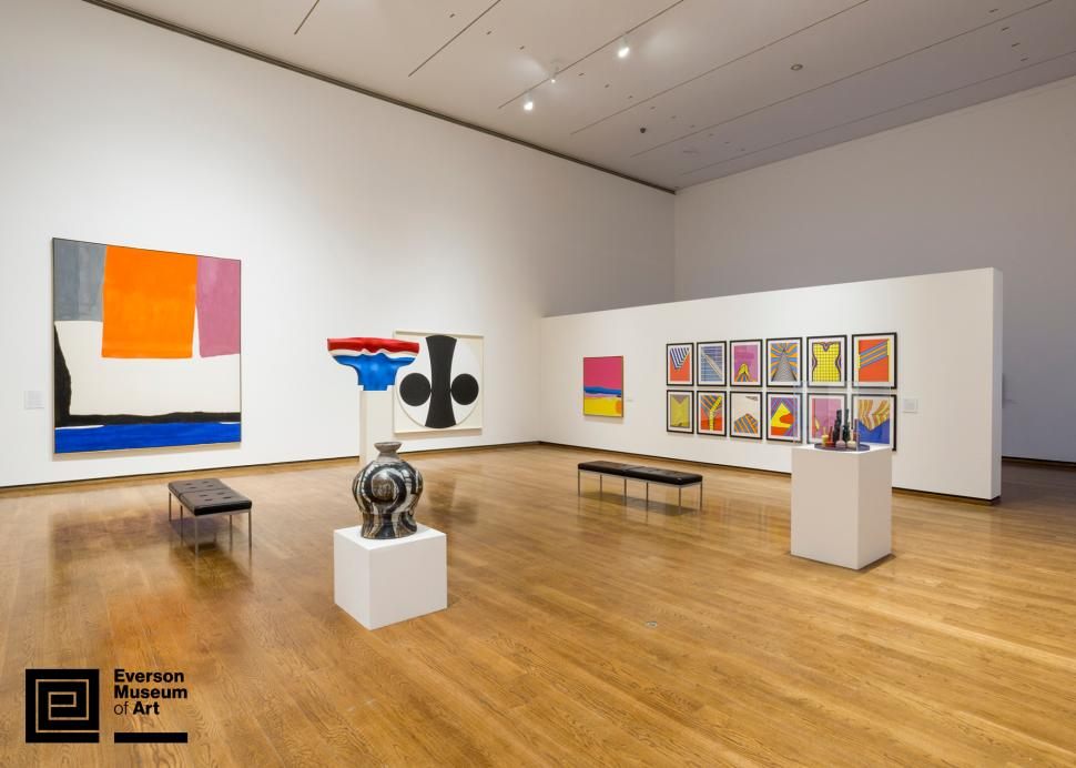 Installation view of A Legacy of Firsts: The Everson Collects; Photo Credit: Jamie Young