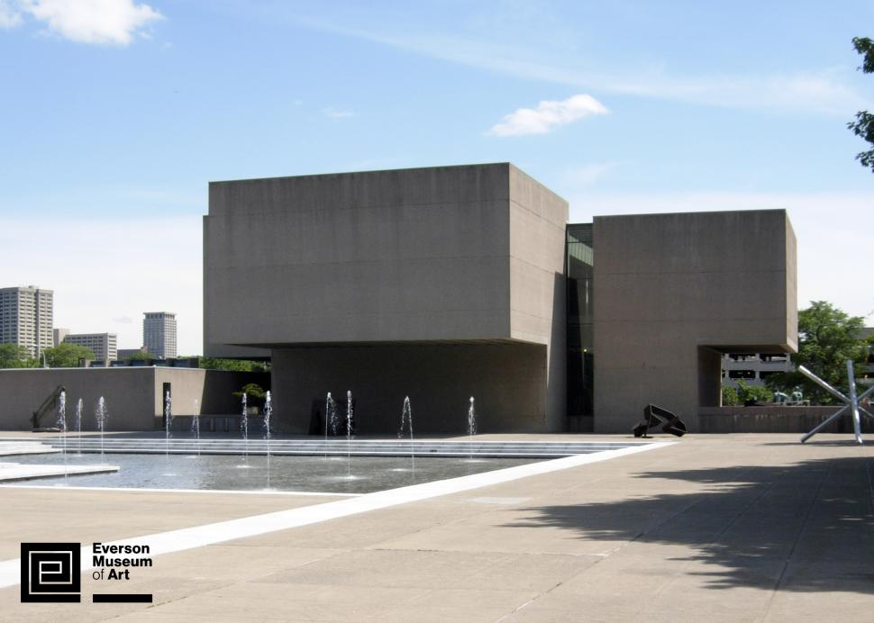 Everson Museum of Art exterior; Photo Credit: Everson Museum of Art