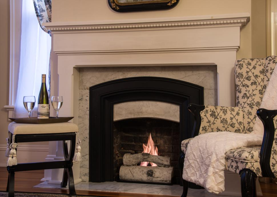Photo Of The Fireplace In The Clement Room At The Inn On The Main