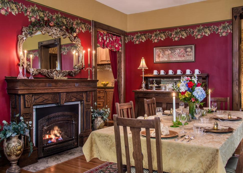 Inside The Penfield Dining Room At The Inn On The Main