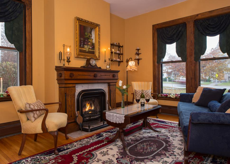 Inside The Parlor At The Inn On The Main