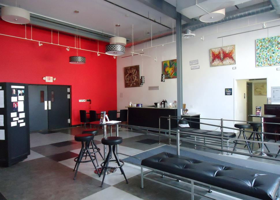 Kitchen Theatre Company lobby and gallery