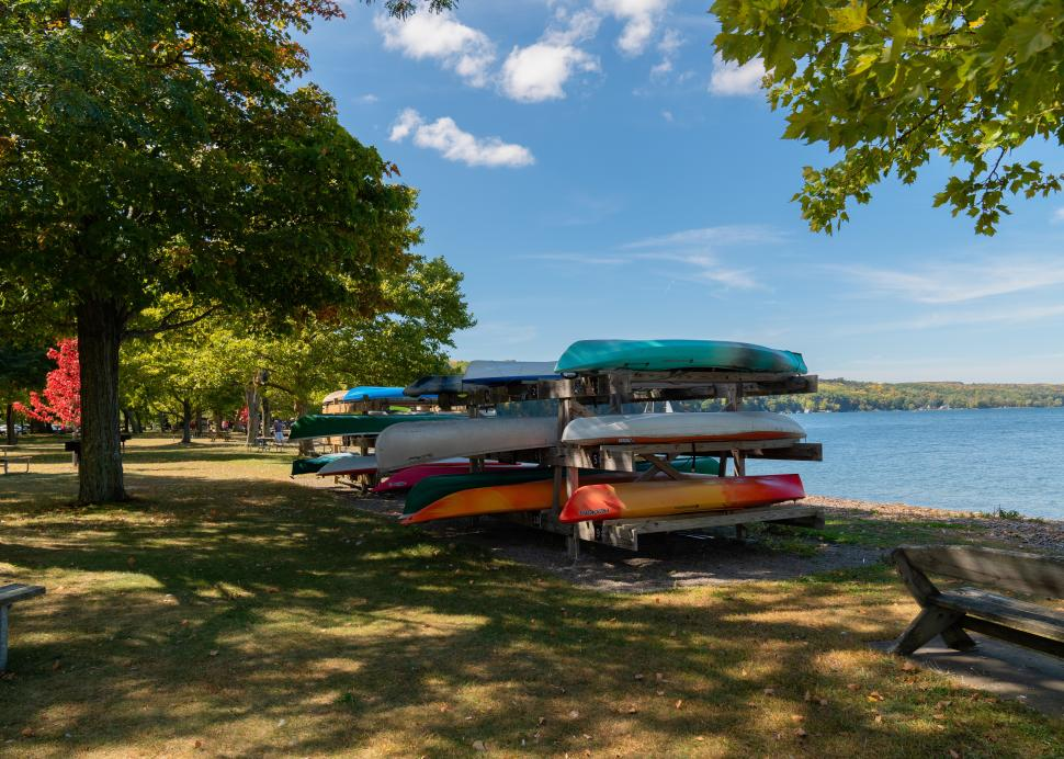 Kayak and Canoe Rentals at the Park